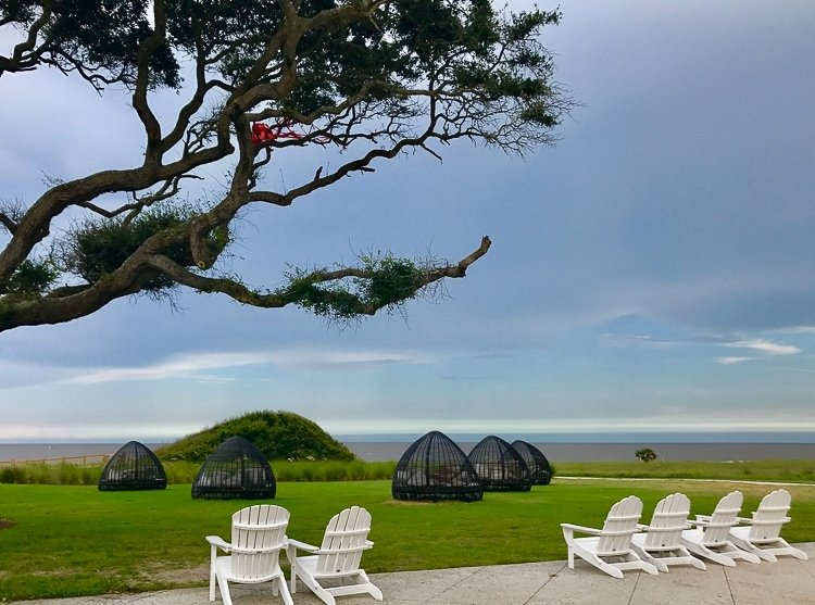 Jekyll Island offers breathtaking oceanfront view