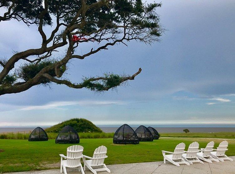 Jekyll Island offers breathtaking oceanfront view