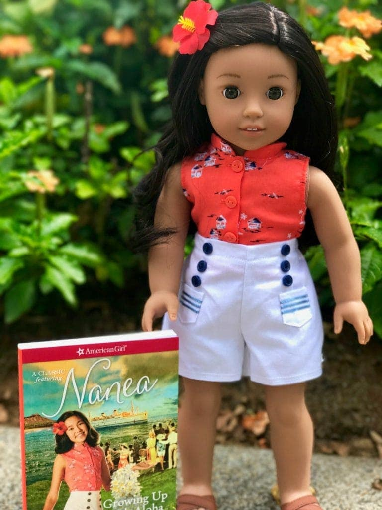 american girl doll nanea mitchell