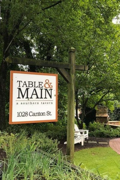 Table & Main Restaurant- Southern Dining in Historic Roswell