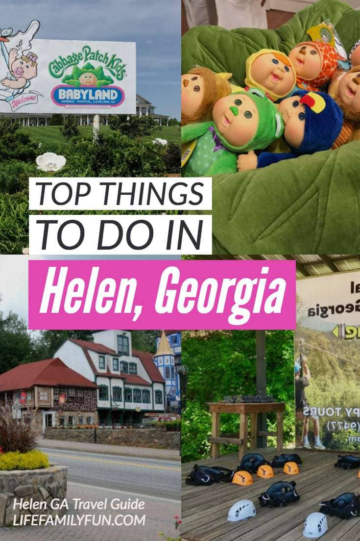 Helen is a great place to take the kids for a jammed pack day of fun or even a weekend getaway. It's no wonder it is the states third most visited city.  #alpinehelen #helengeorgia #octoberfest https://lifefamilyfun.com/helen-georgia-family-fun/