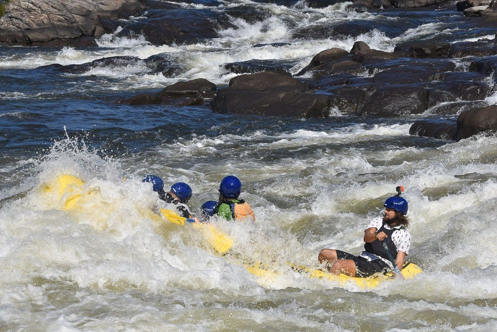 WhiteWater Rafting with WhiteWater Express