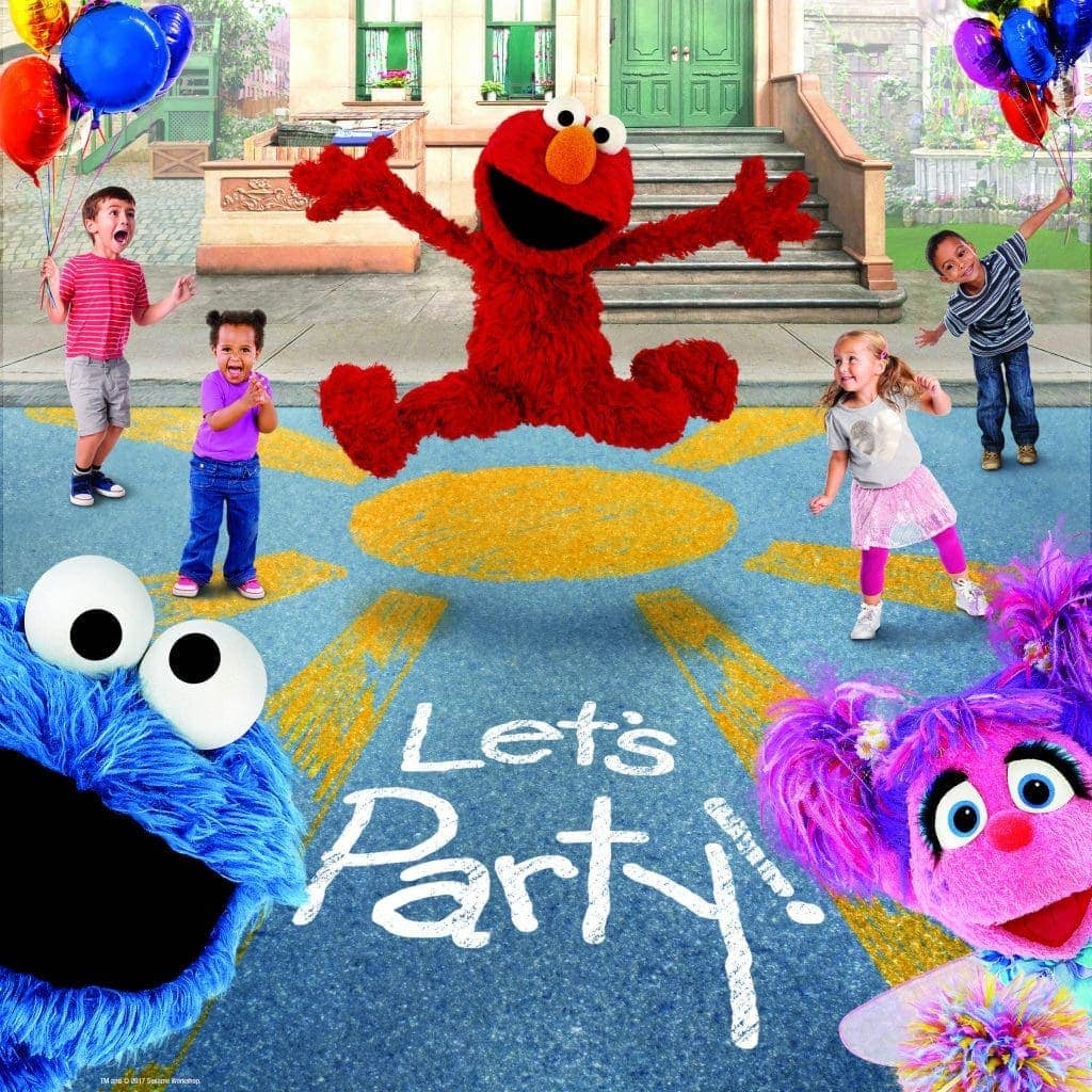 Giveaway: Sesame Street Live! Let's Party! Infinite Energy Arena