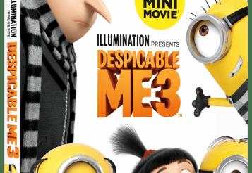 Despicable Me 3: DVD Movie Promotion