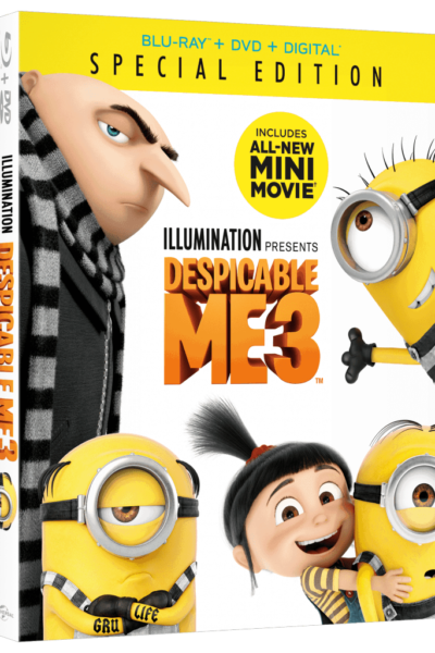 Despicable Me 3: DVD Movie Promotion