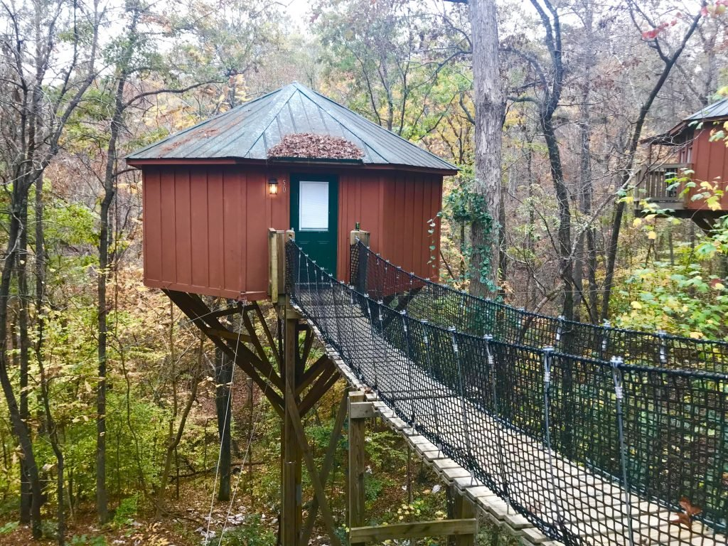 banning mill, tree house, overnight tree house accommodations, historic banning