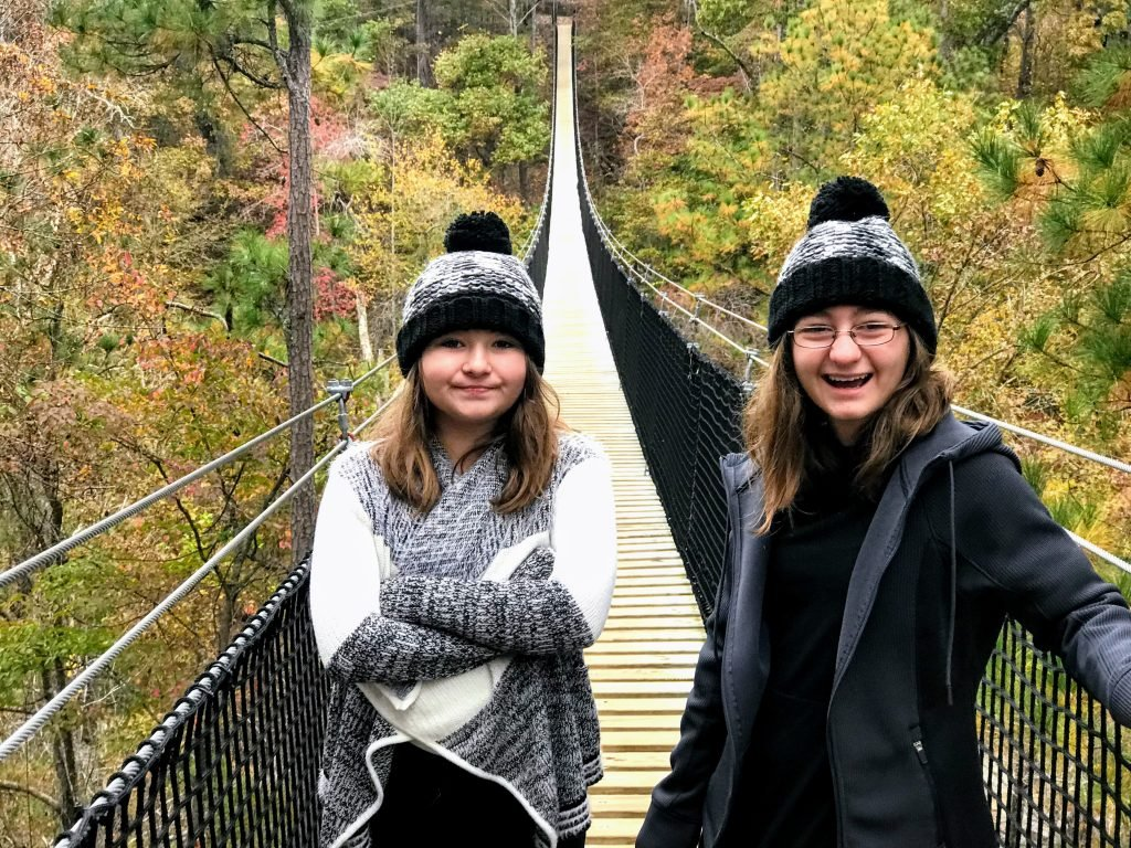 Suspension Bridge at Historic Banning Mills
