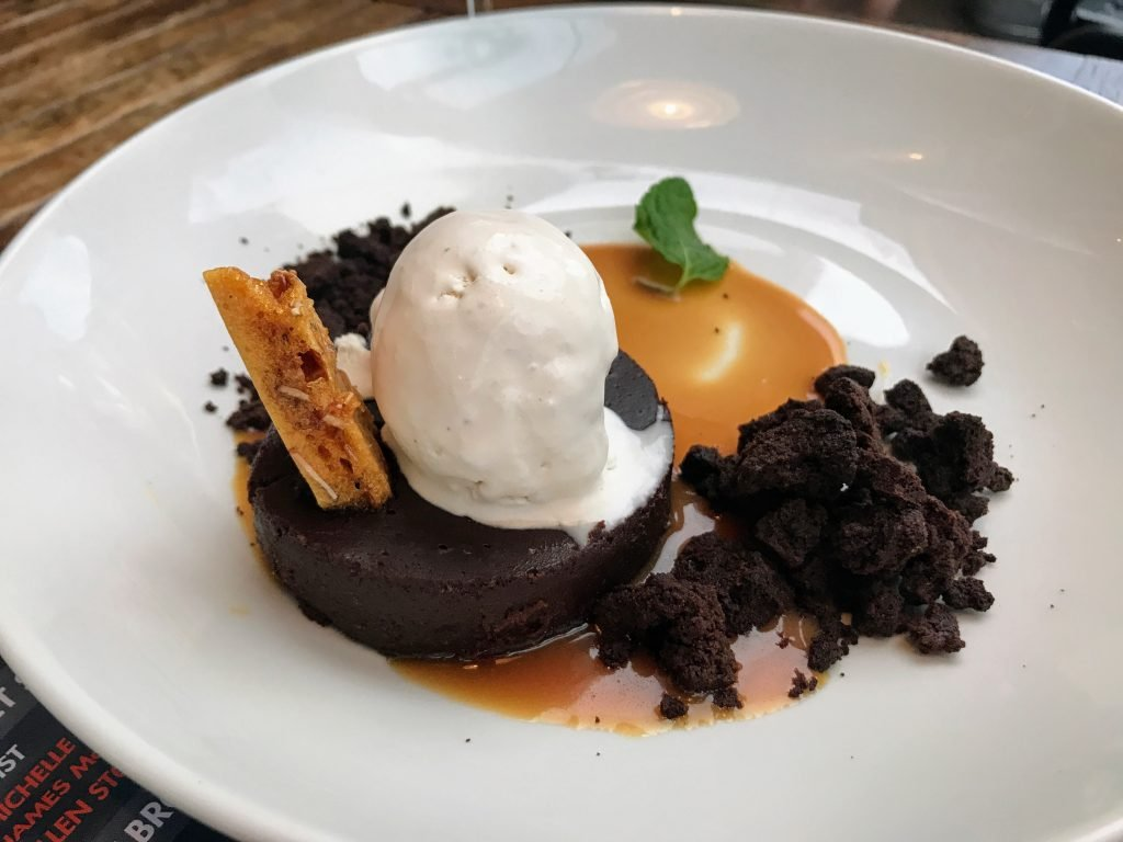 Flourless Chocolate Cake, south main kitchen menu options