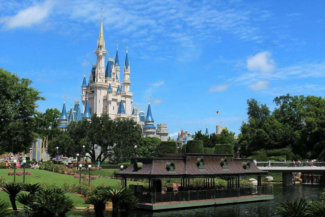 Magic Kingdom, Walt Disney World, Photo of the Castle