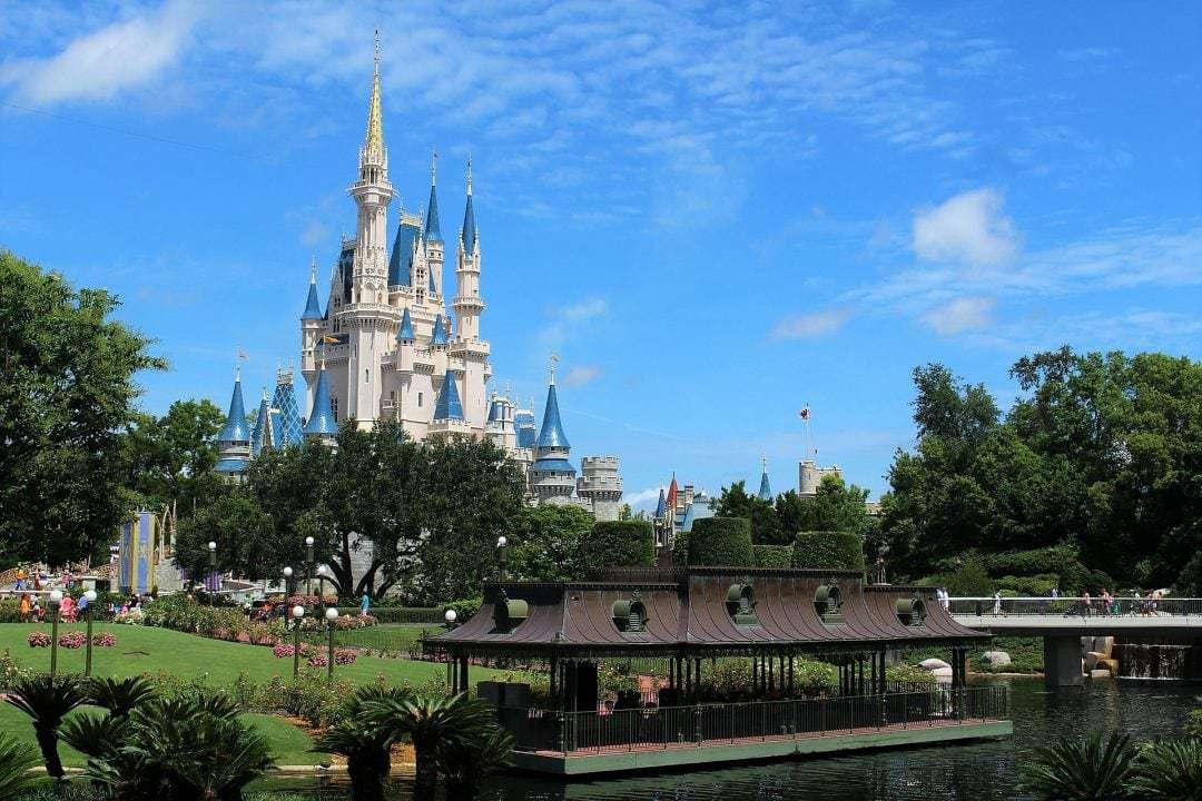Magic Kingdom, Walt Disney World, Photo of the Castle
