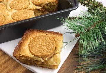 Cookie Butter Blondie, Cookie Butter Blondie Recipe, Cookie Butter Blondie Dessert