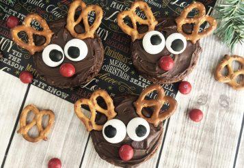Easy Rudolph Reindeer Brownies – Perfect Christmas Holiday Dessert