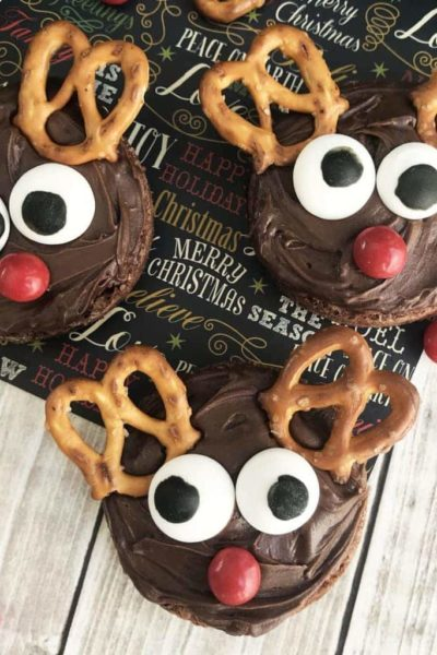 Easy Rudolph Reindeer Brownies – Perfect Christmas Holiday Dessert