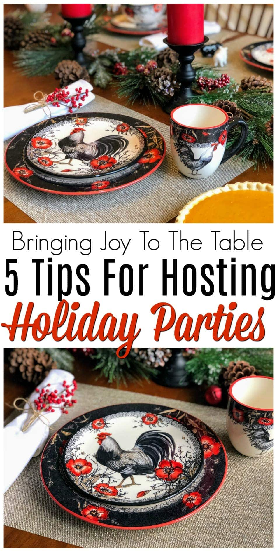 Are you hosting a holiday party this year? Holidays can be stressful, but they don't have to be! These five tips will help make your holidays hassle-free. #ad #JoyToTheTable #CrackerBarrel @CrackerBarrel https://www.southernfamilyfun.com/hosting-holiday-party-without-hassle/