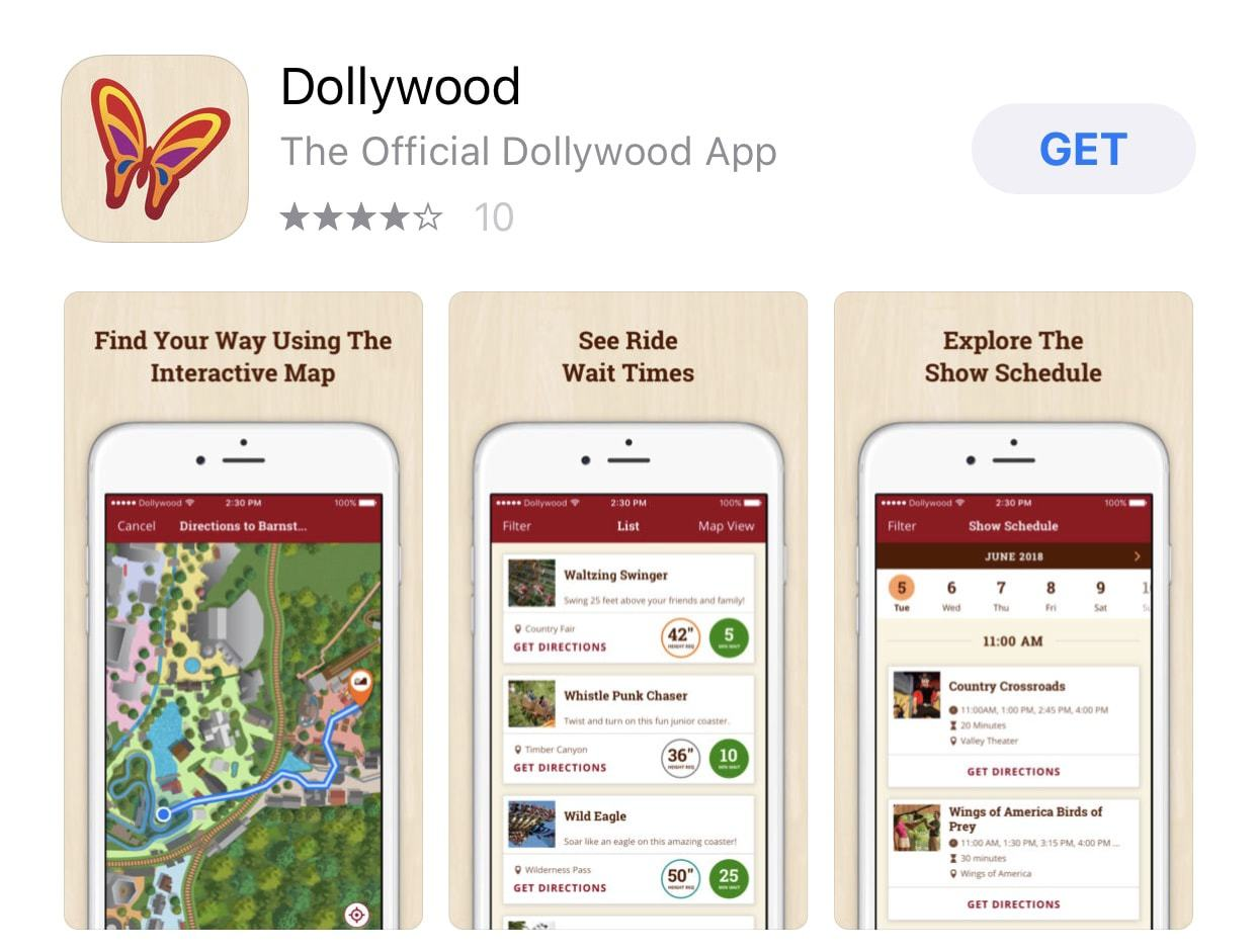 Dollywood app