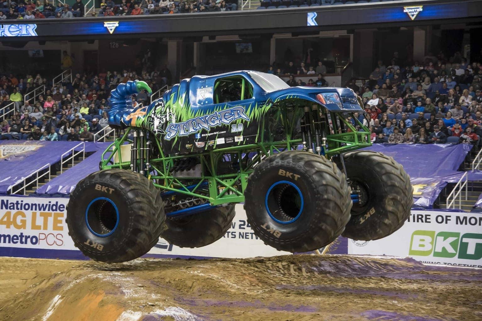 Monster Jam Races Into Mercedes-Benz Stadium