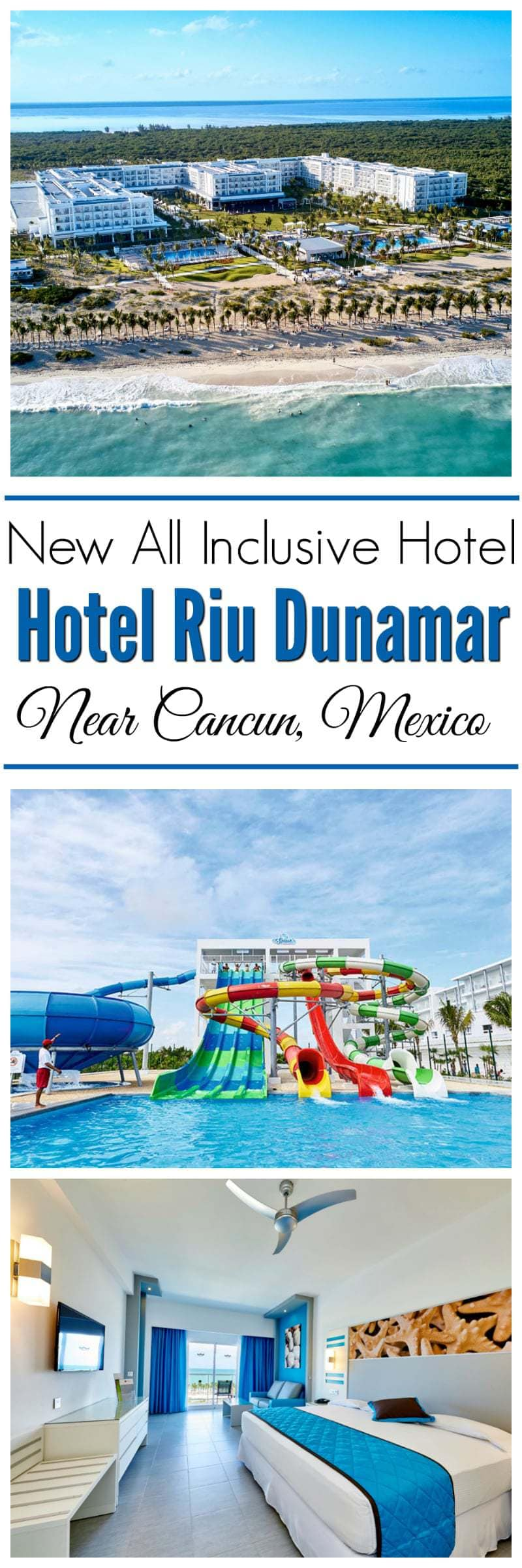Hotel Riu Dunamar is located on the gorgeous golden sands of Costa Mujere. Vacationing here has many perks. From RiuLand Kids' Club, Renova Spa, Splash Water World, delicious cuisine and so much more.Riu Dunamar has 740 beautifully designed rooms for you and your whole family to enjoy. #ad #RIUDunamar https://www.southernfamilyfun.com/hotel-riu-dunamar-mexico/