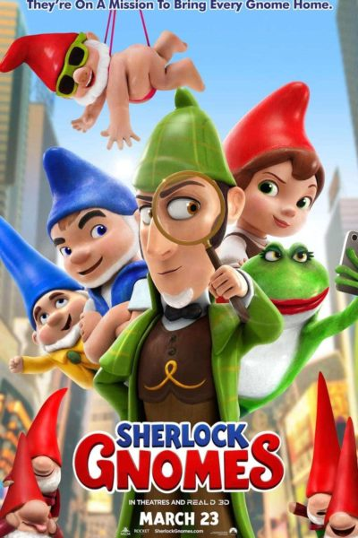 Paramount Pictures presents Sherlock Gnomes Movie Promotion