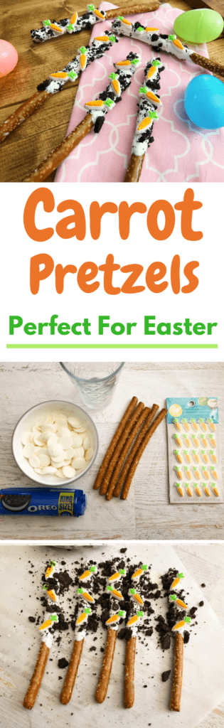 Pretzel Rods, Easter Pretzel Rods, White Chocolate Dipped Pretzels, Easter Rods, Easter Pretzels, Recipes for Easter, Easter Pretzel Rod