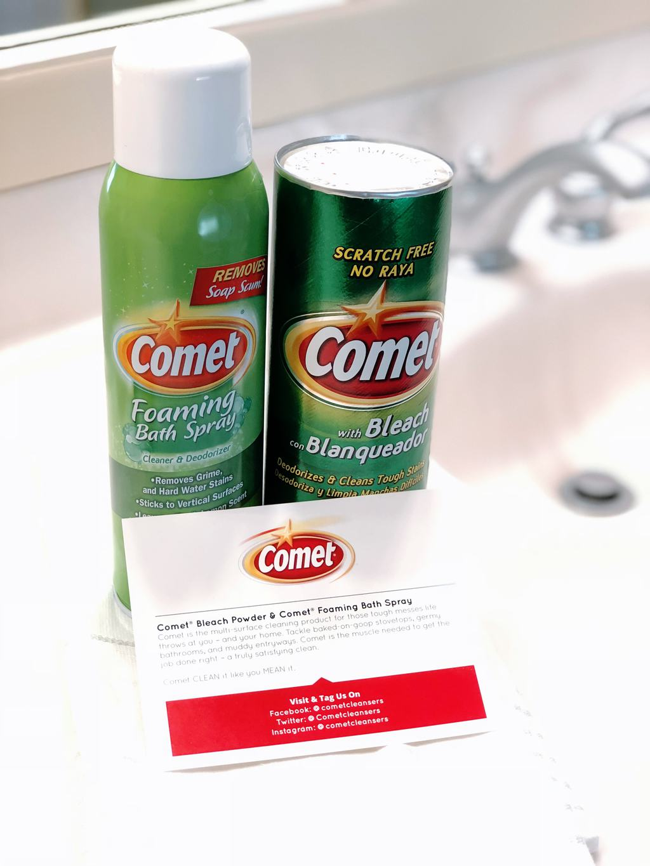 comet foaming bath spray, comet, comet bleach