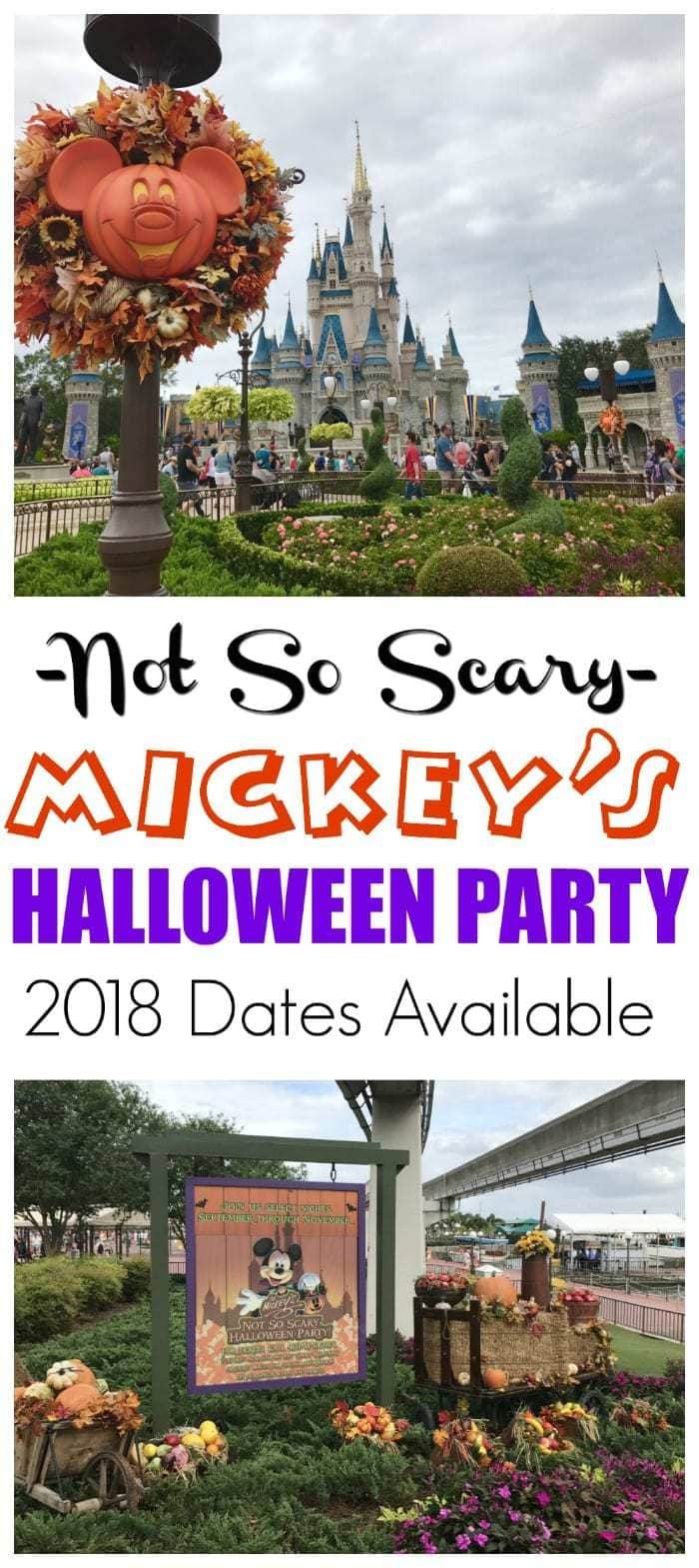 If you're traveling to Walt Disney World during the Fall season, you can't miss Mickey's Not So Scary Halloween Party. Runs Aug thru Nov at Magic Kingdom. #MagicKingdom #MNSSHP #Disney https://www.lifefamilyfun.com/mickeys-not-scary-halloween-party-magic-kingdom/