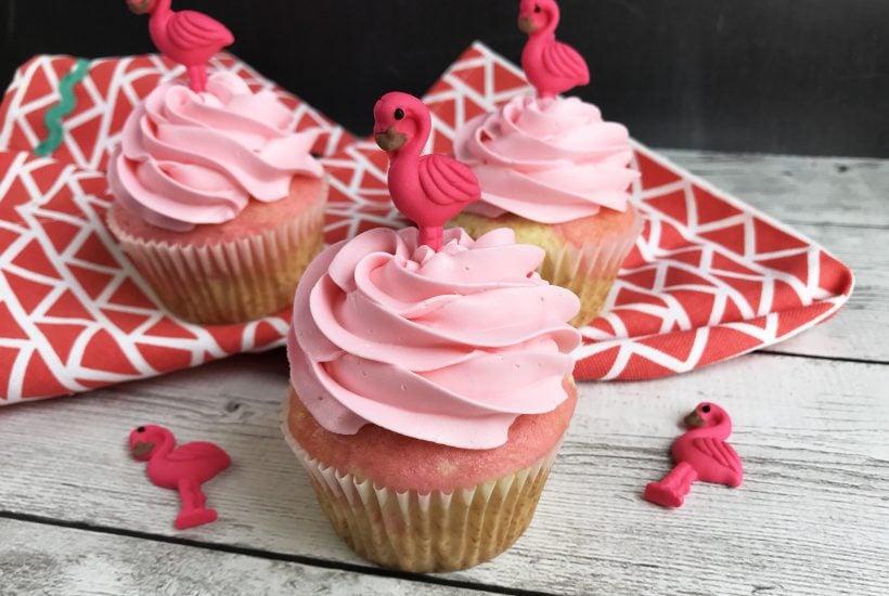 Flamingo Cupcakes, Flamingo Desserts