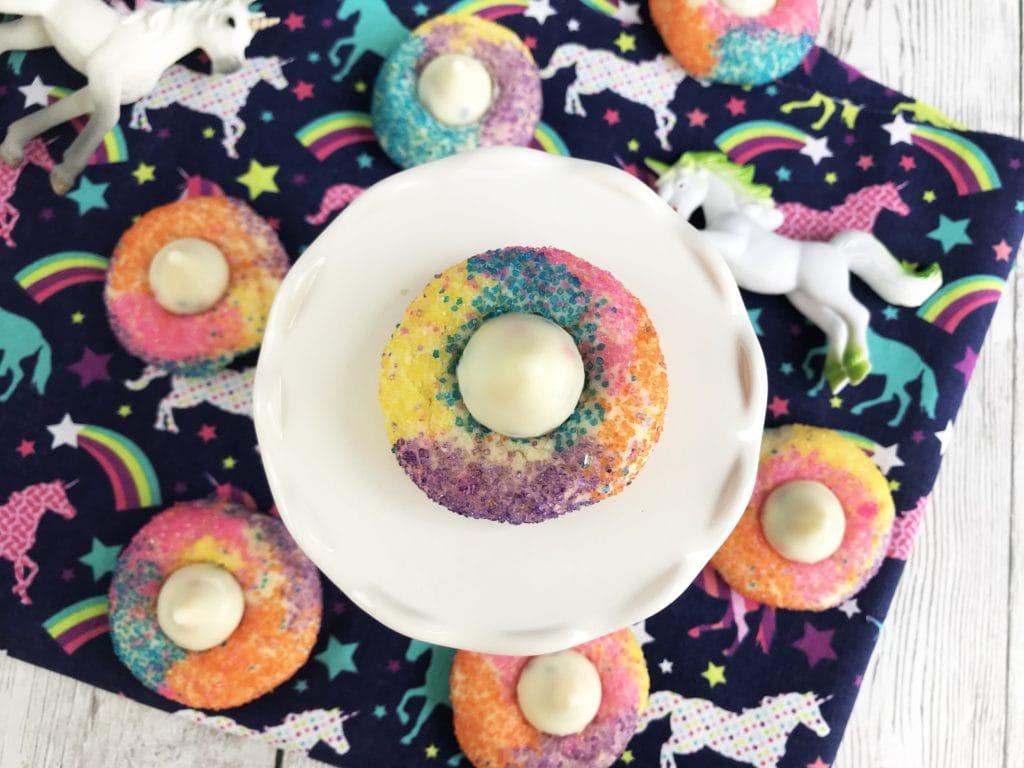 Unicorn Cookies, Unicorn Kiss Cookies, Unicorn Dessert