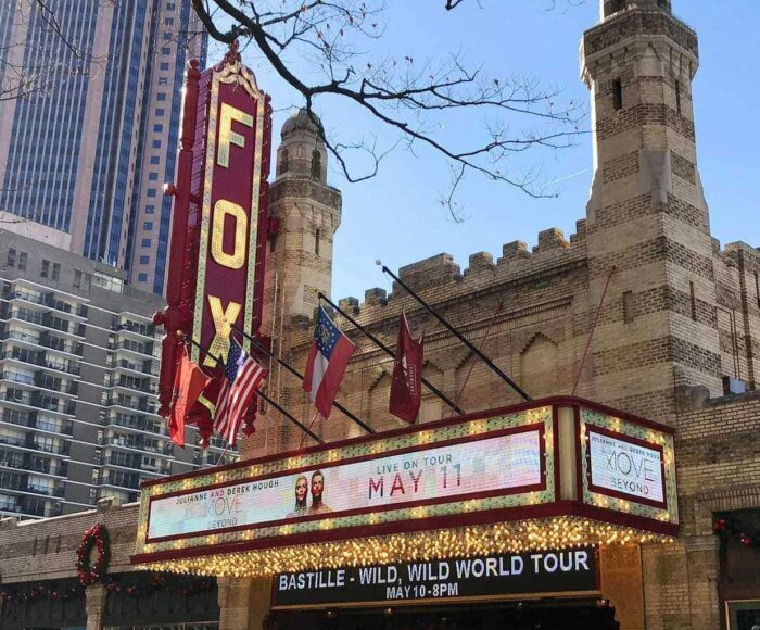 fox theatre atlanta schedule