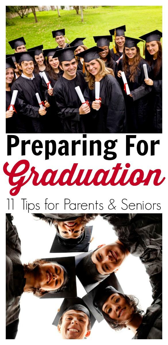 Graduation tips for parents and seniors