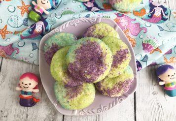 How To Make Mermaid Sugar Cookies for a Mermaid Themed Birthday