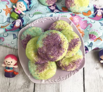 Mermaid Sugar Cookies, Mermaid Cookies, Mermaid Treats, Looking for some unique cookies to celebrate a summer-themed or mermaid themed birthday party? Or what about just a super simple recipe to create with your little one? However you want to make these Mermaid Sugar Cookies is up to you, just make certain that you give them a try! #MermaidCookies #MermaidBirthdayParty https://www.southernfamilyfun.com/mermaid-sugar-cookies/