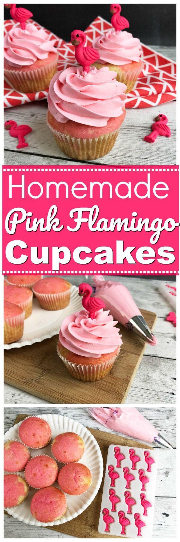 homemade flamingo cupcakes, Flamingo Cupcakes, Flamingo Desserts, pink flamingo cakes, pink flamingo birthday parties, beach themed birthday cupcakes, beach themed cupcakes, flamingo desserts, desserts with flamingos, cupcakes with flamingos, edible pink flamingo cupcake toppers