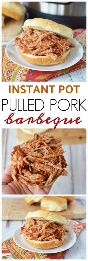 BBQ Pork in the Instant Pot, Instant Pot BBQ, Instant Pot Pulled Pork, Instant Pot BBQ, BBQ In the Instant Pot