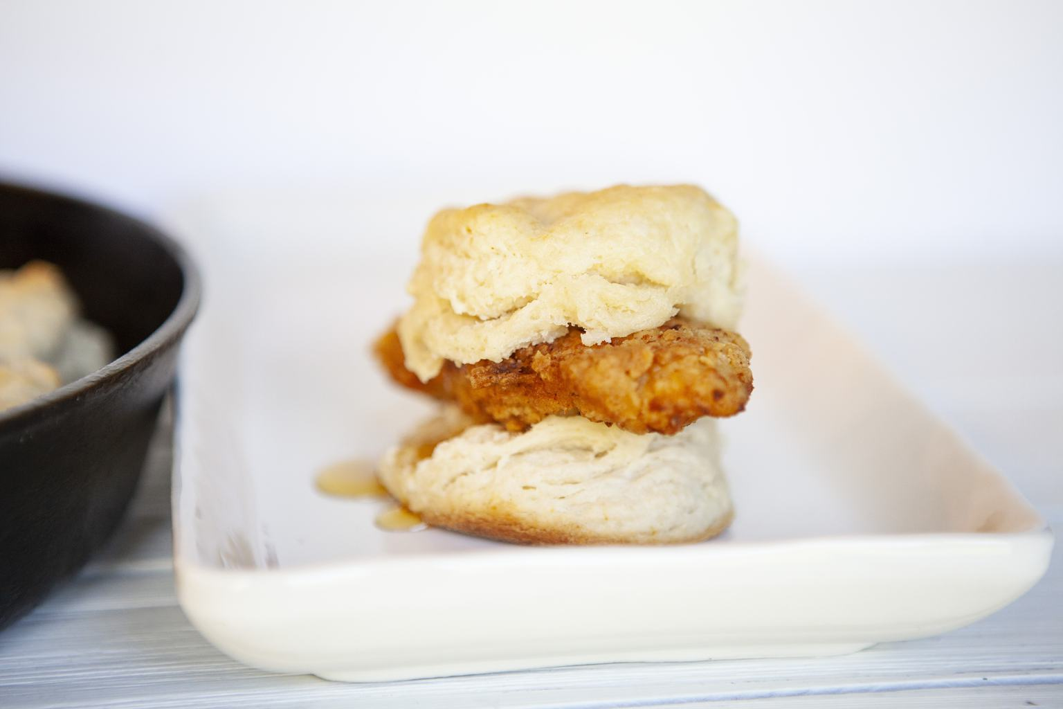Spicy Chicken Biscuits – Made With Real Homemade Buttermilk Biscuits