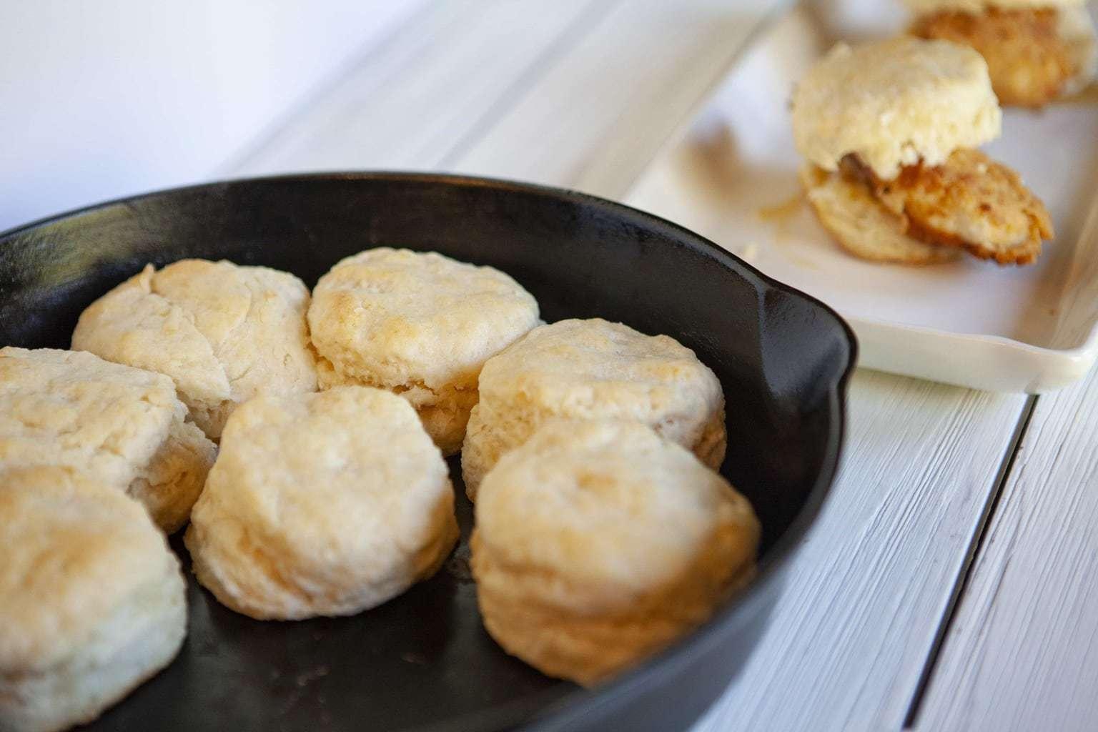 homemade buttermilk biscuits, spicy chicken biscuits