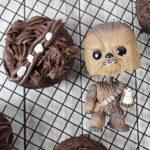 Chewbacca Cupcakes, Chewbacca Donuts, Chewbacca Recipes, Chewbacca Star Wars Recipes, Chewbacca Star Wars, Star Wars Chewbacca Recipes