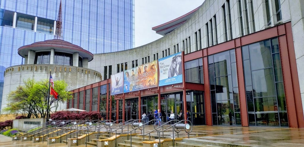 Nashville Attractions, Front Entrance of Country Music Hall of Fame