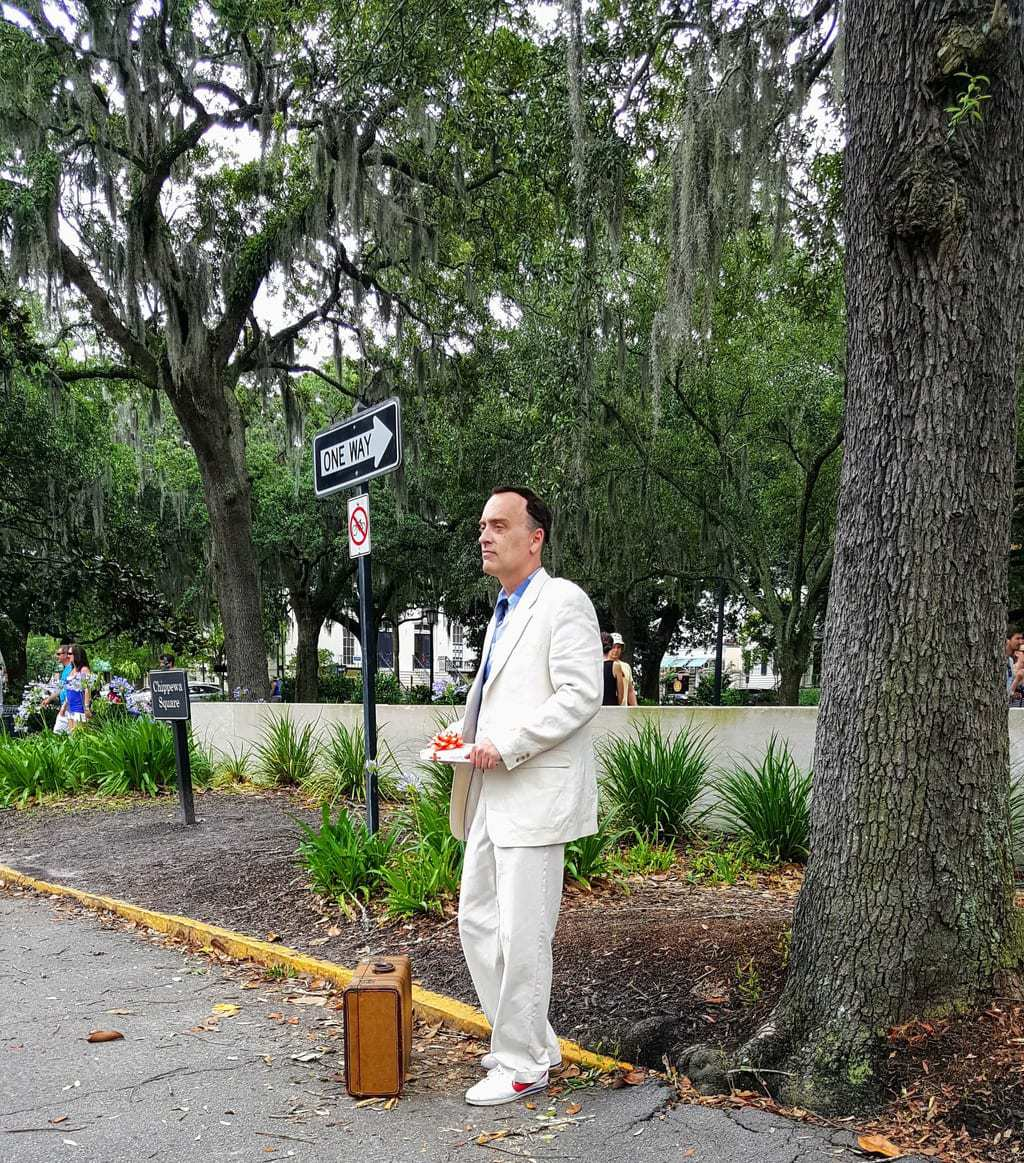 forest gump in savannah