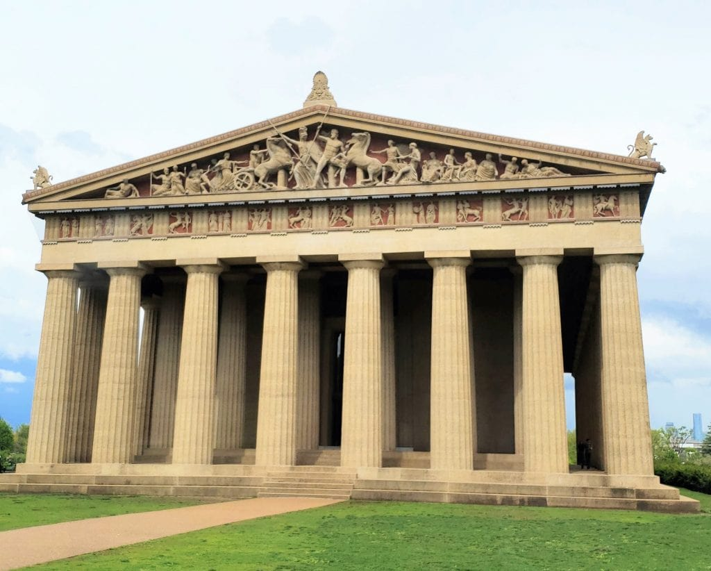 parthenon in Nashville, Nashville monuments