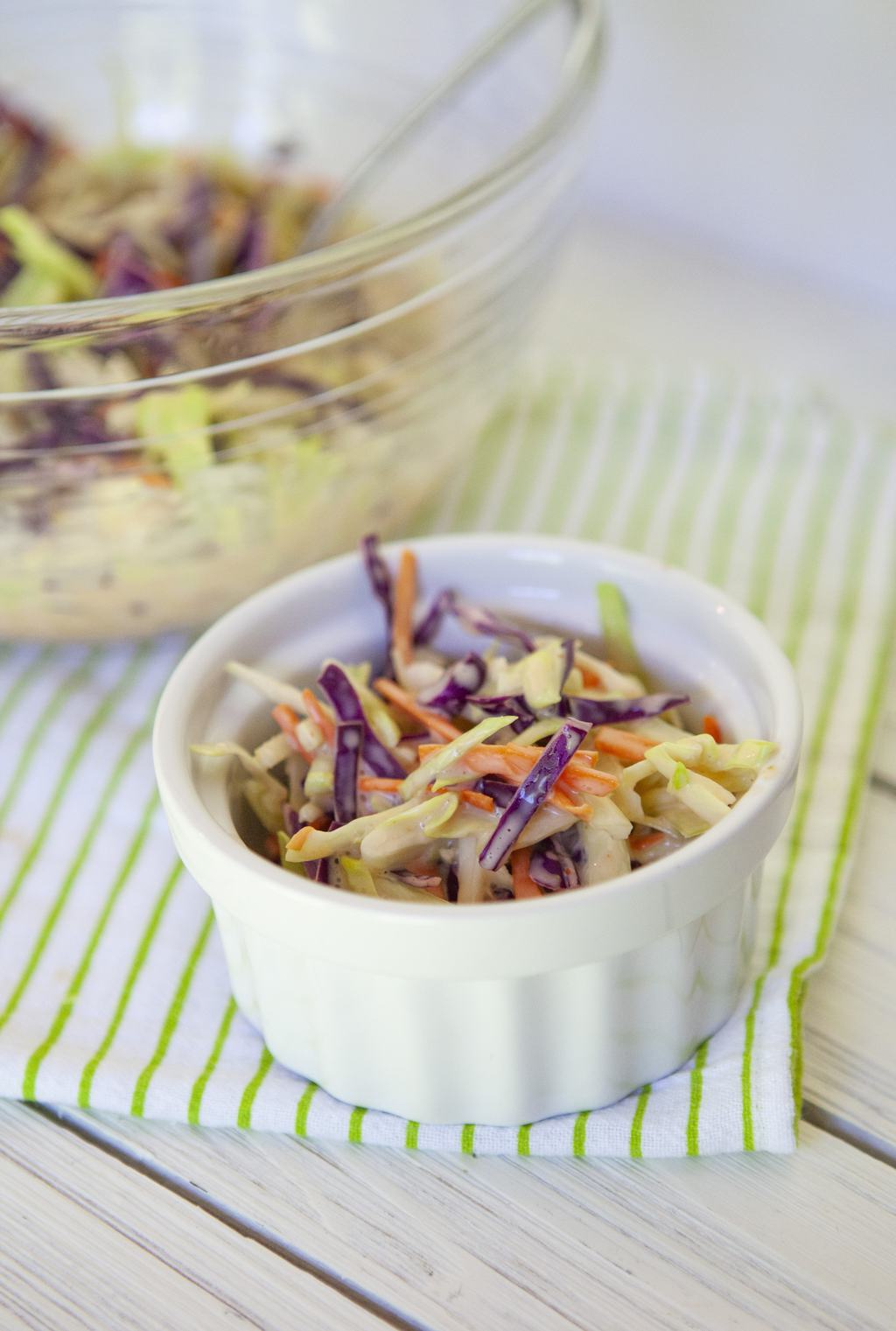 spicy cabbage coleslaw
