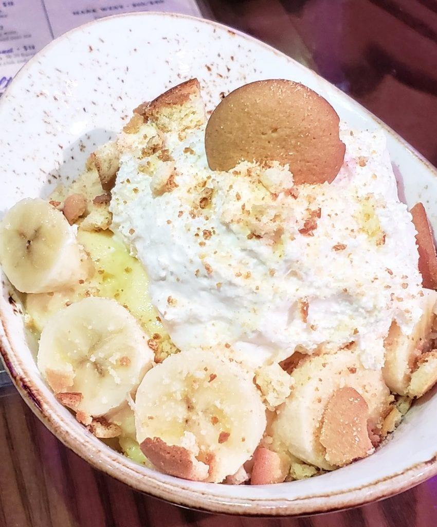 Banana Pudding at Wildhorse Saloon