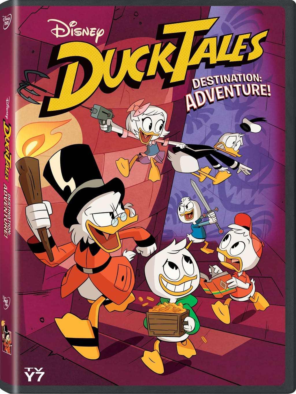 Disney's Ducktales: Destination Adventure Movie Promotion