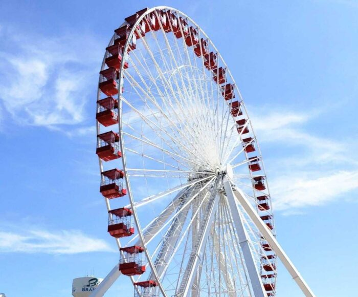 branson ferris wheel, chicago navy pier ferris wheel