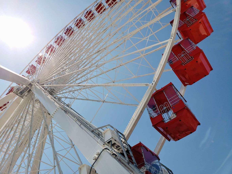 branson ferris wheel, track family fun park