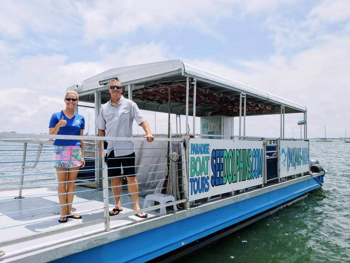 Enjoy Great Views and Dolphin Sighting With Paradise Boat Tours – Anna Maria Island