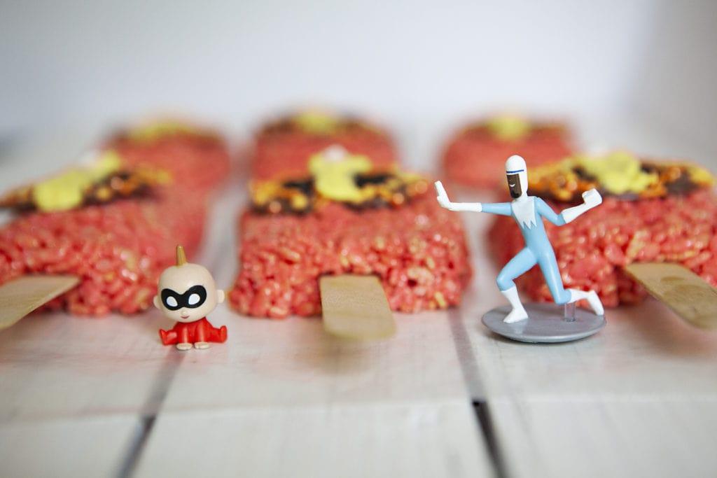 Incredibles Rice Krispie, Incredibles 2 Recipe, Incredibles Rice Krispy Pops, Rice Krispy Recipes