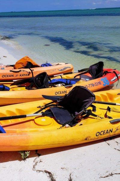 kayak rentals at beach bums