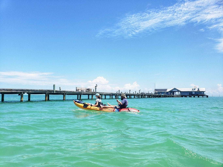 Kayaking on Anna Maria Island