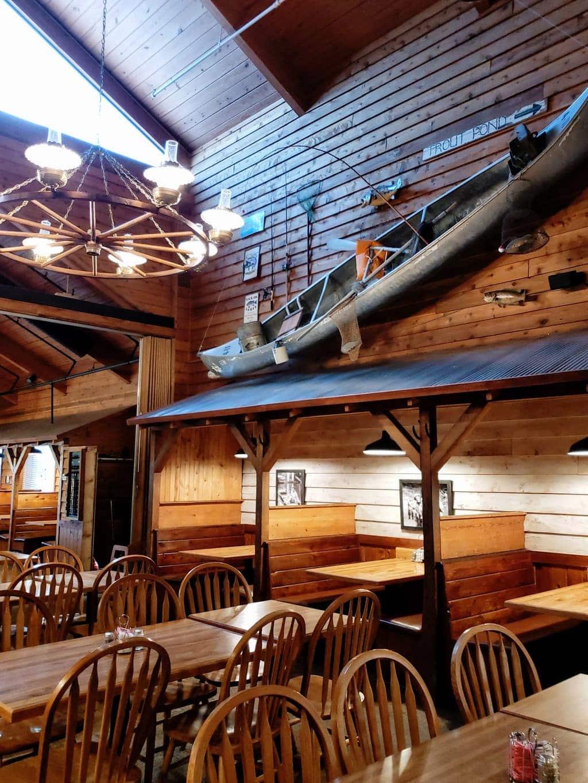 inside mcfarlain's restaurant in branson