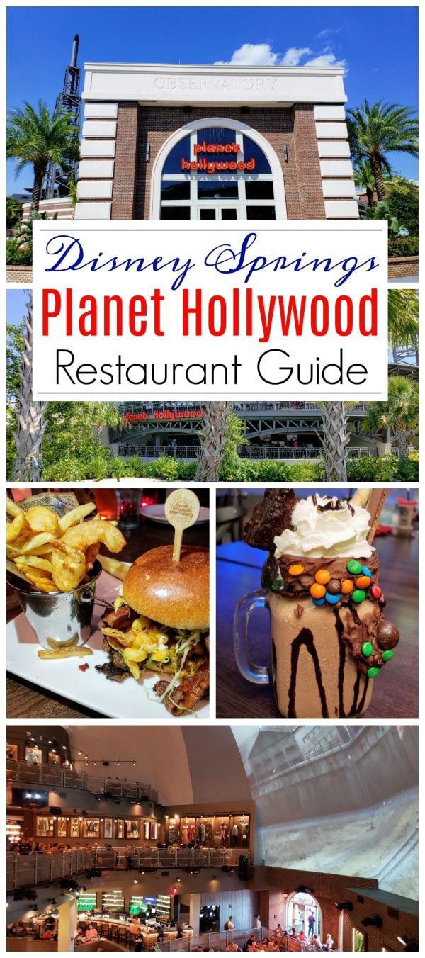 When shopping and having fun at @DisneySprings, treat you and your family to lunch or dinner at @PlanetHollywood. The food is delicious, the pricing is great and the ambiance is top-notch as well. #DisneySprings #PlanetHollywood